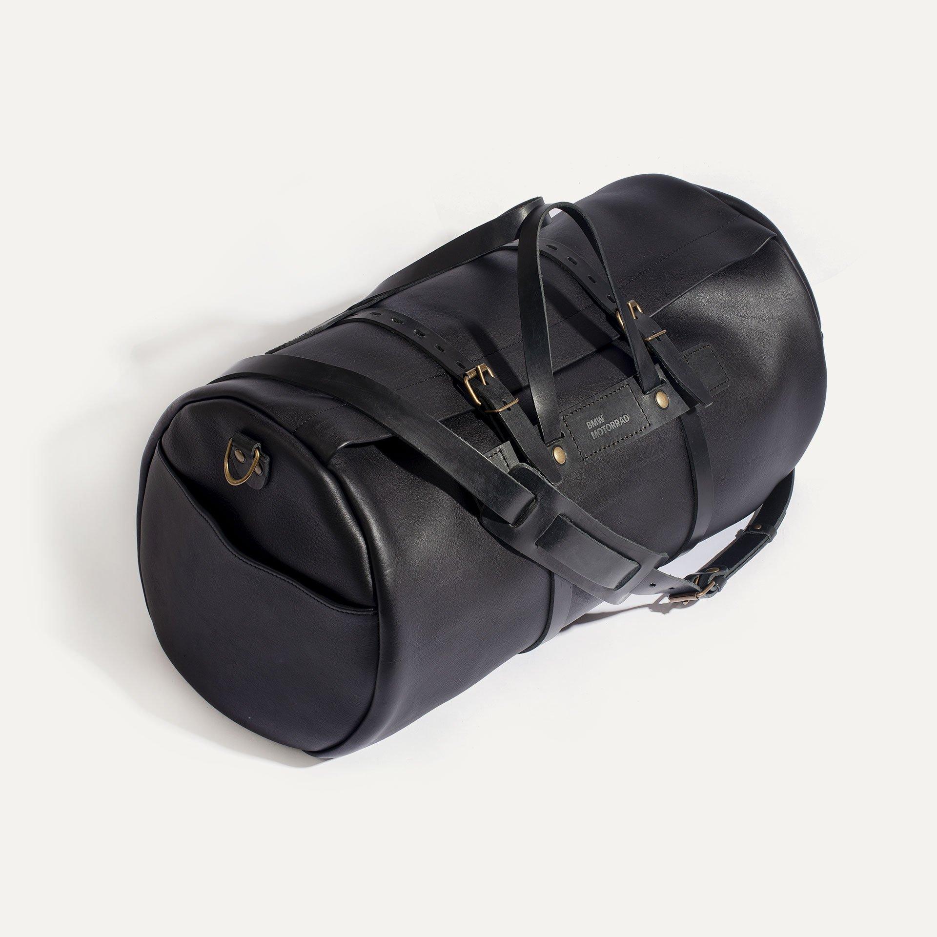 Leather 'Bivouac' bag – Black (image n°3)
