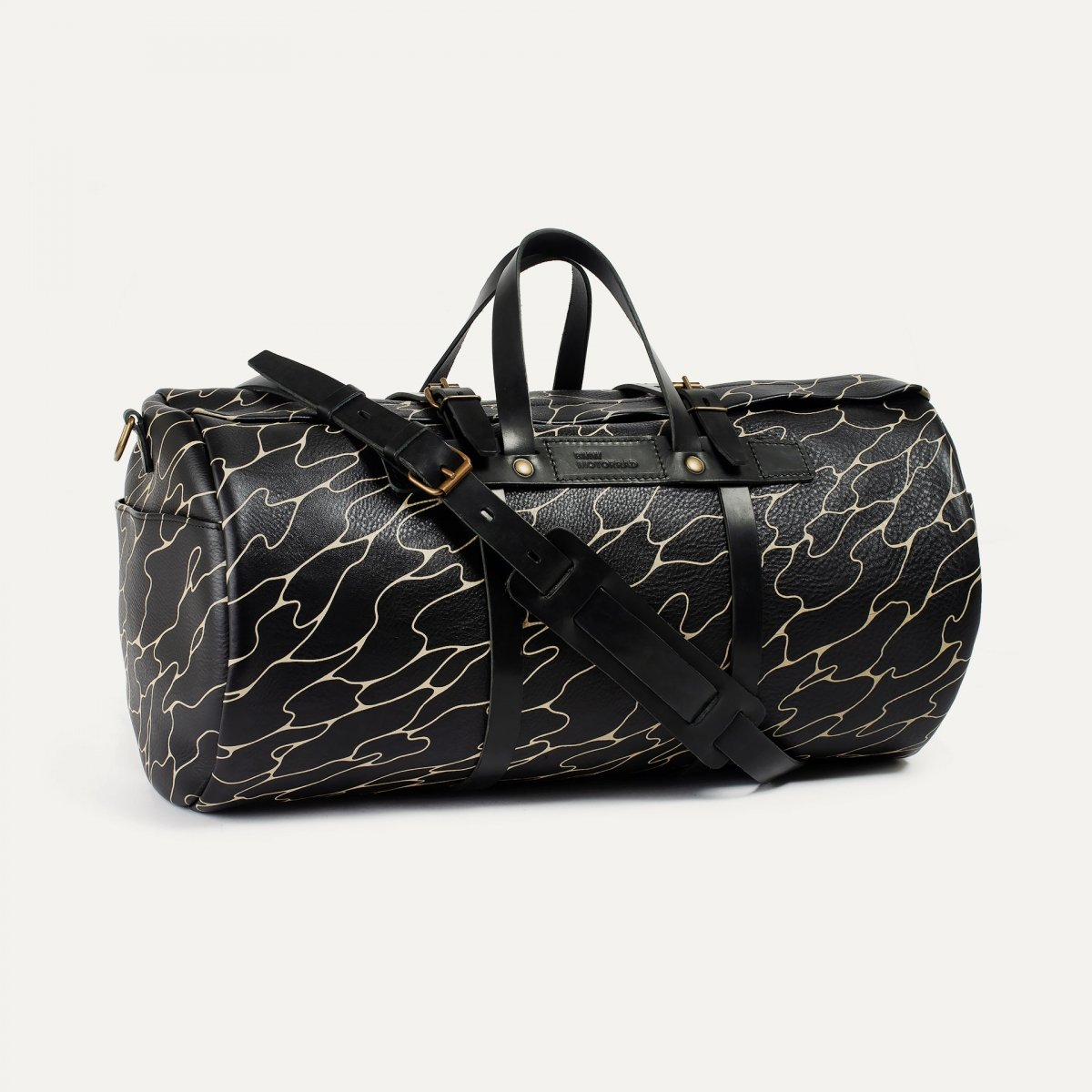 Leather 'Bivouac' bag – ''SupaKitch'  (image n°2)