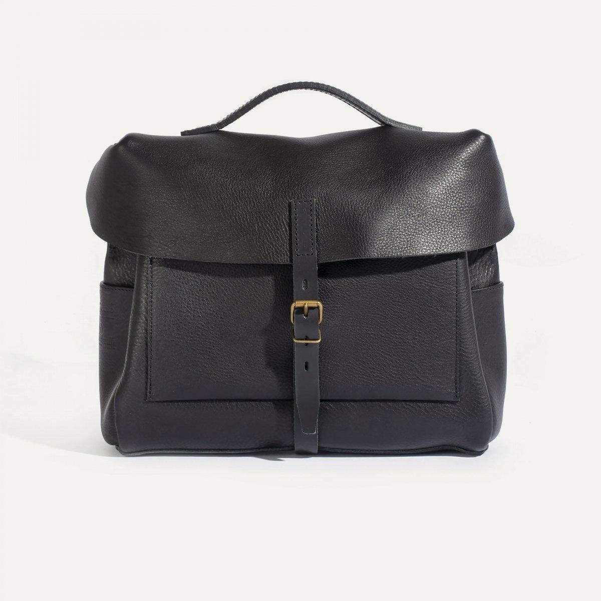 Eclair 'R18' Mailman bag - Black (image n°1)