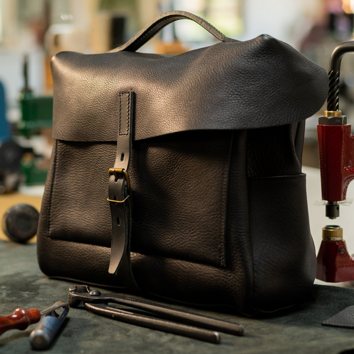 Eclair 'R18' Mailman bag - Black (image n°5)