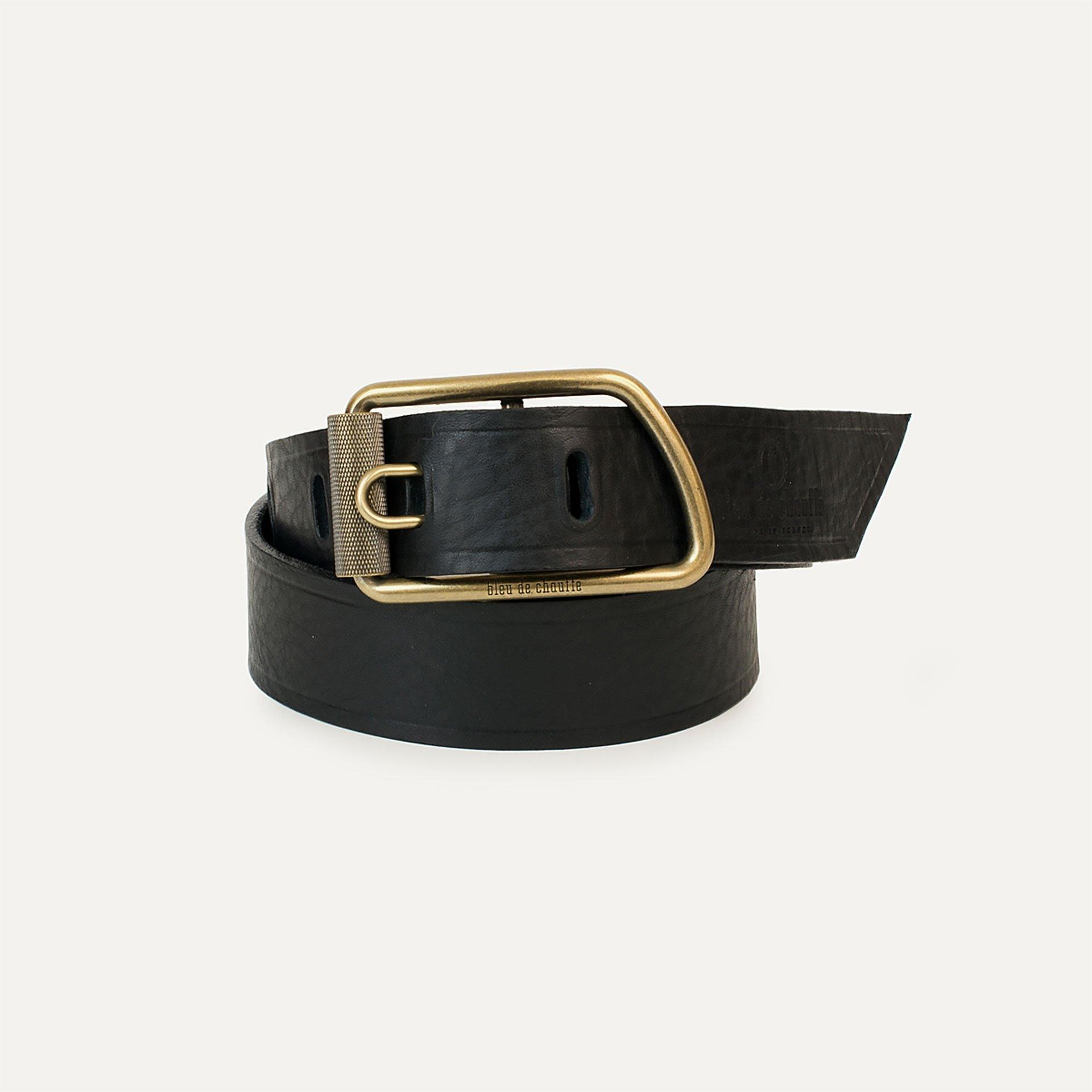 Maillon Belt - Black grained (image n°2)