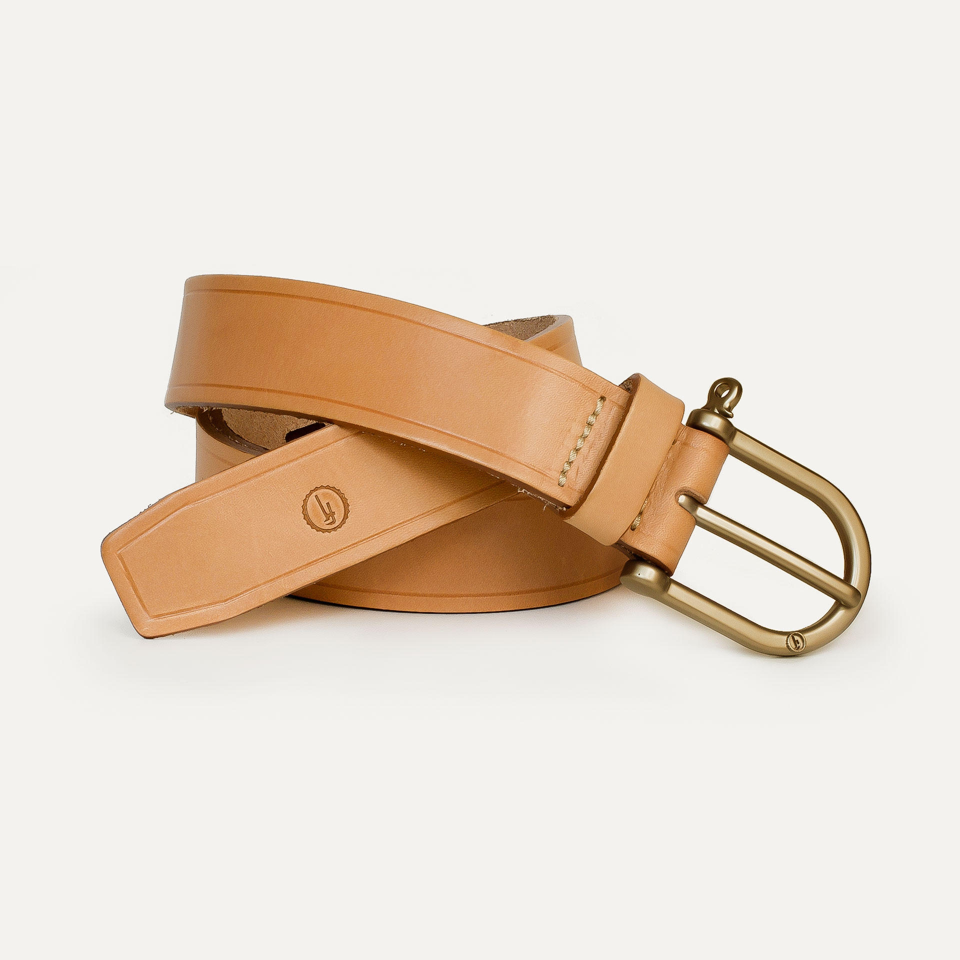 Manille Belt - Natural  /  Gold (image n°1)