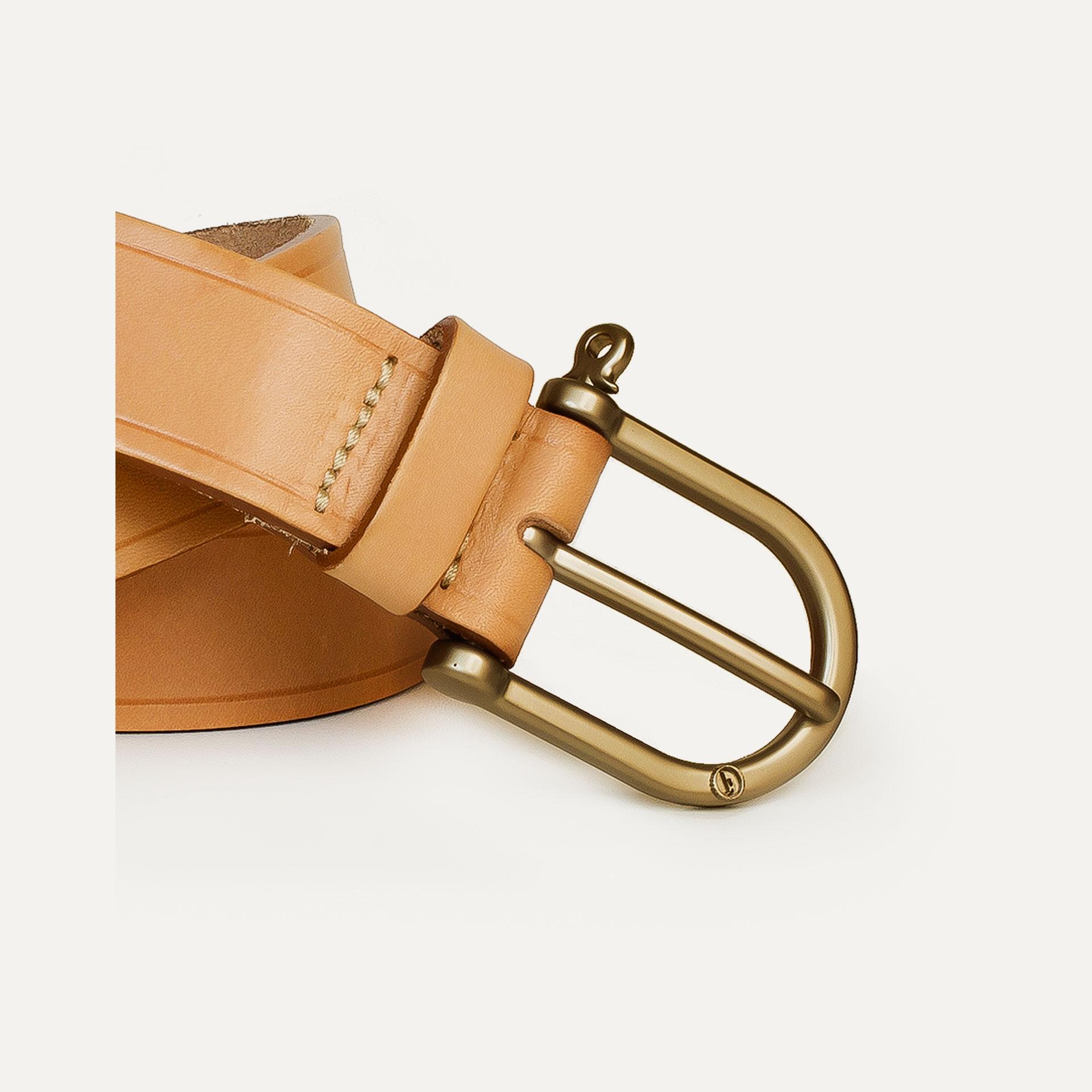 Manille Belt - Natural  /  Gold (image n°2)