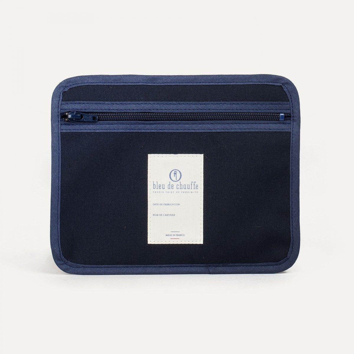 Poche zippée - Bleu (image n°1)