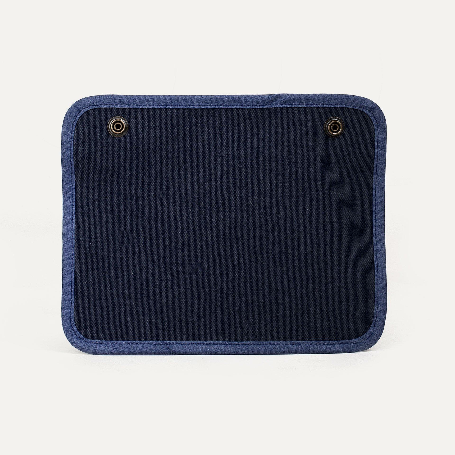 Poche zippée - Bleu (image n°2)