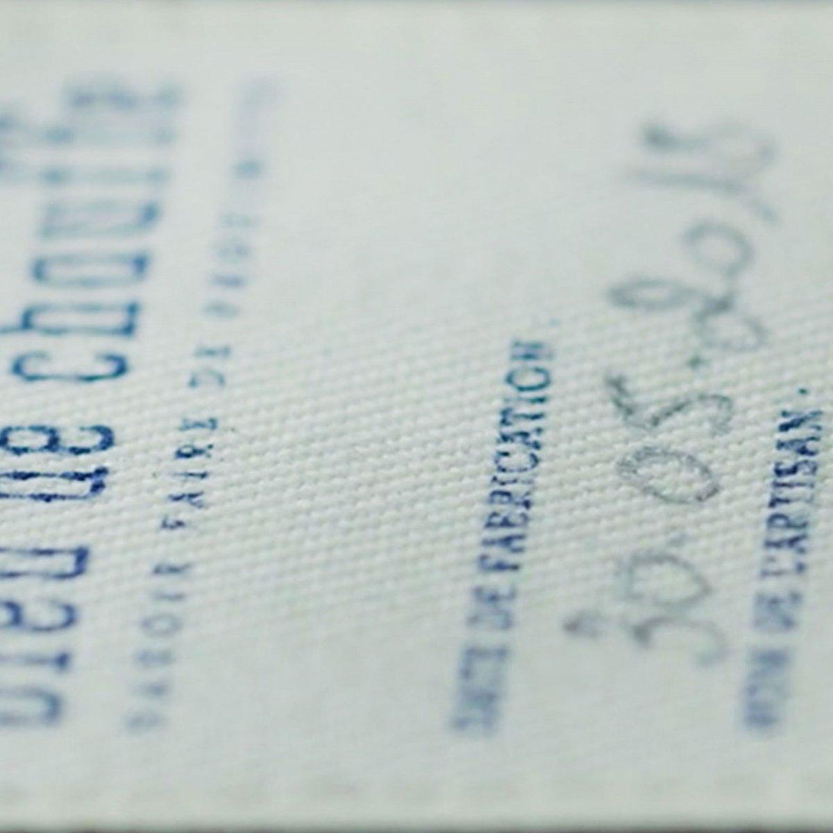 Poche zippée - Bleu (image n°4)