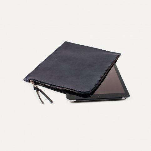 Joe Ipad sleeve - Navy Blue
