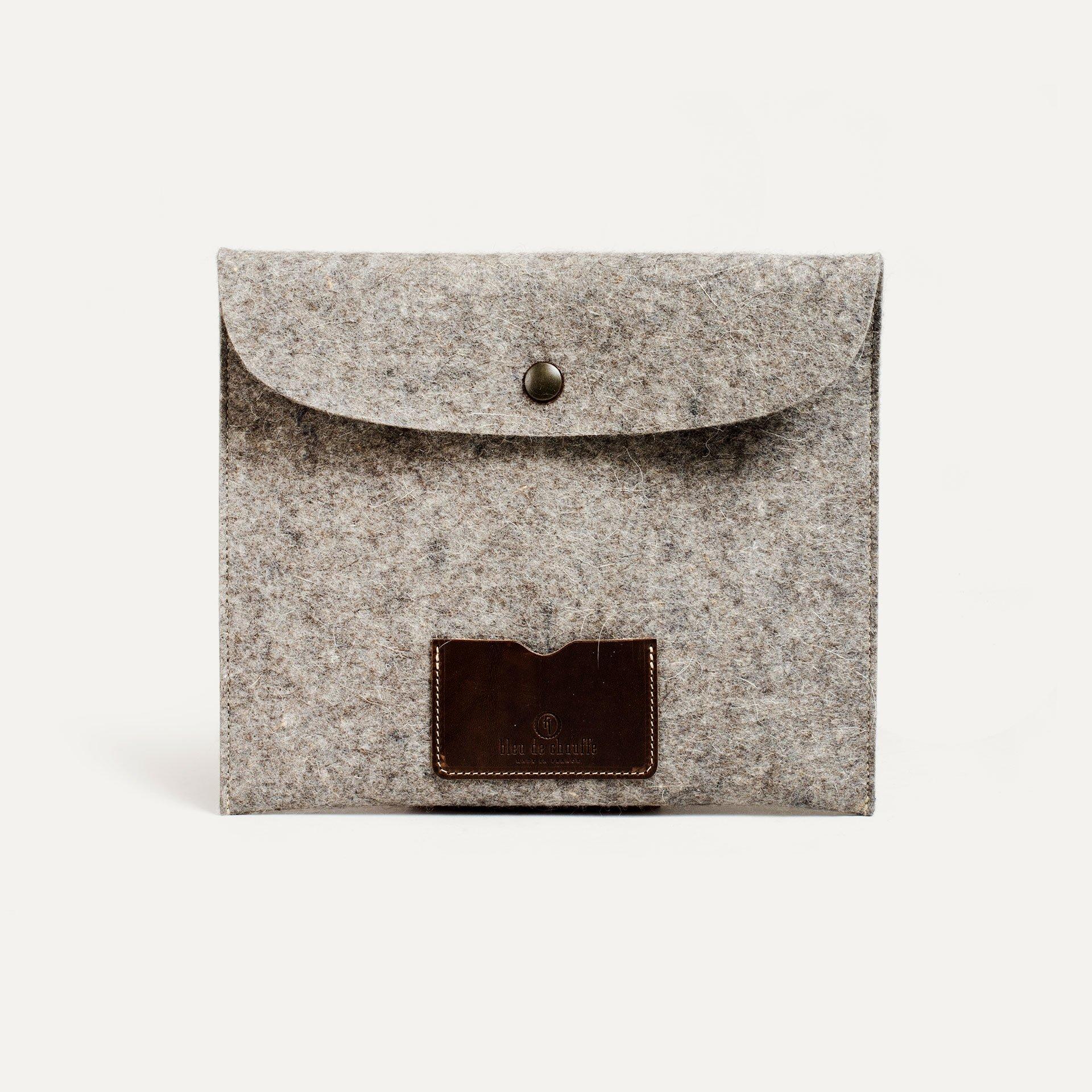Miky iPad sleeve - Natural Felt (image n°1)