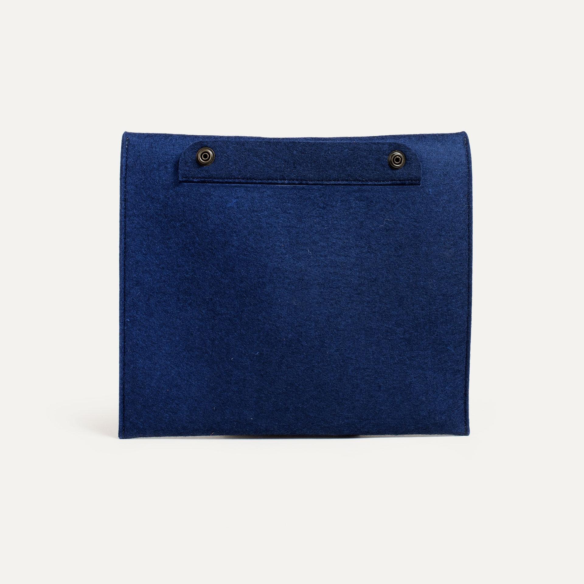 Miky iPad sleeve - Blue Felt (image n°2)