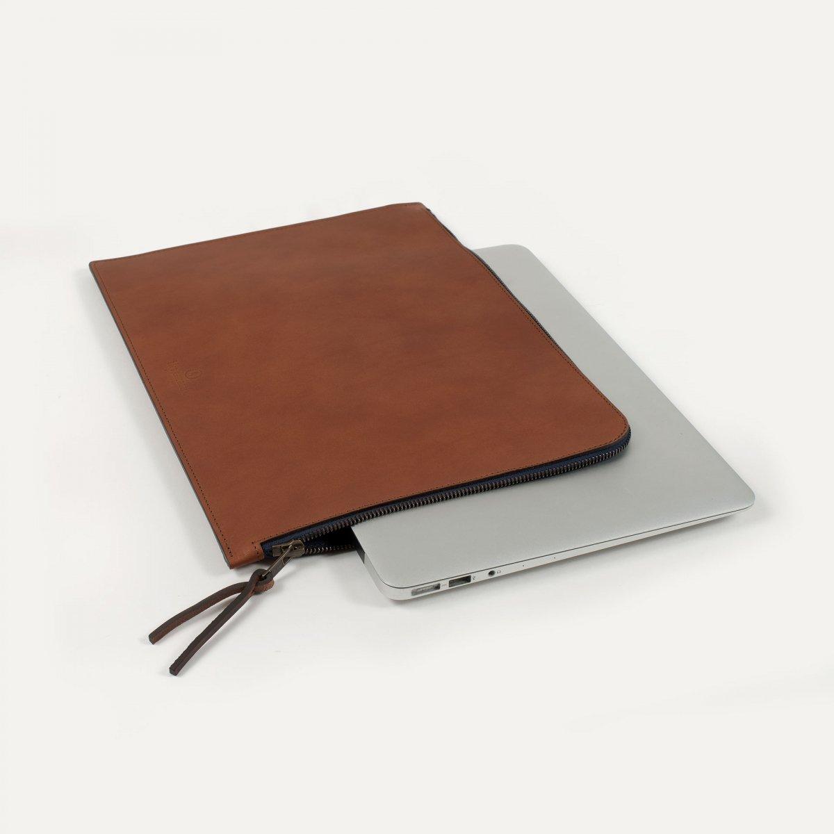 "Jim Laptop sleeve 13"" - Pain Brûlé (image n°1)"
