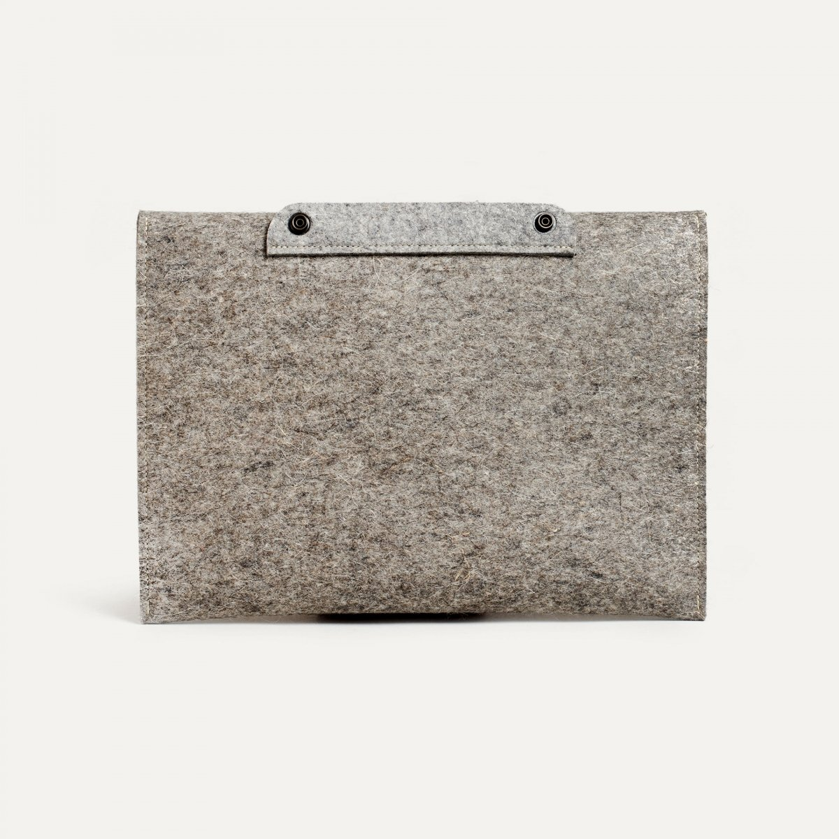 """Misha 13"""" Laptop sleeve - Natural felt (image n°2)"""