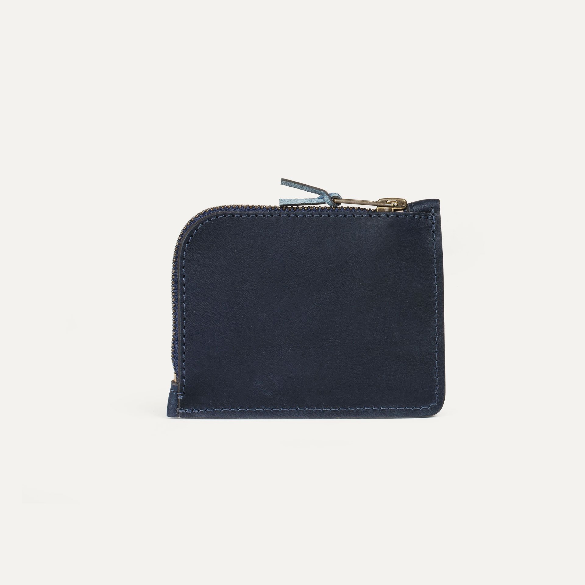 As zippered purse / M - Navy Blue (image n°2)