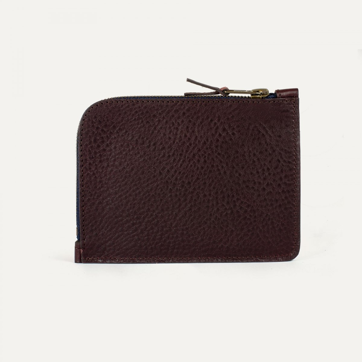 Daron zippered purse / XL - Peat (image n°2)