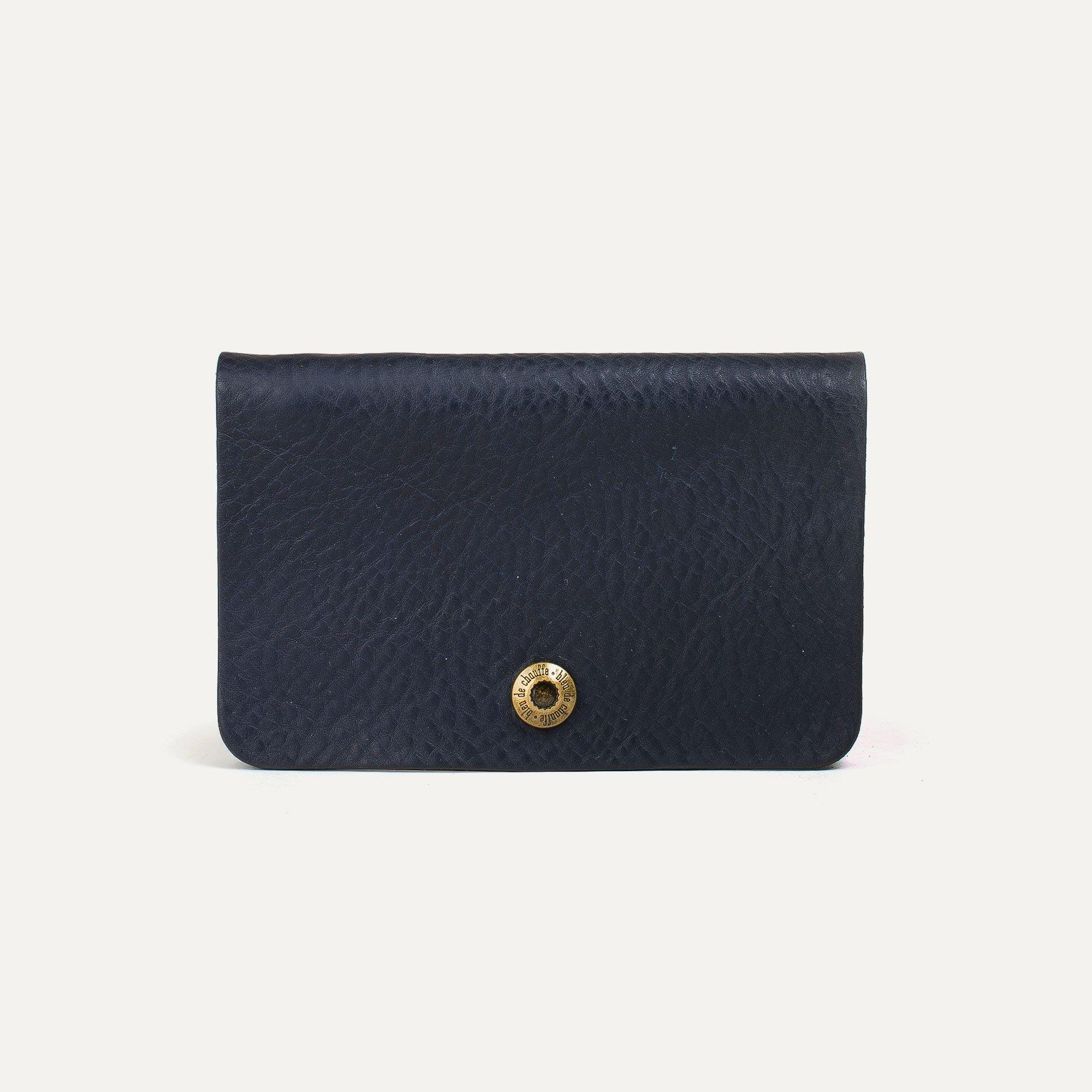 Grisbi wallet - Navy Blue (image n°1)