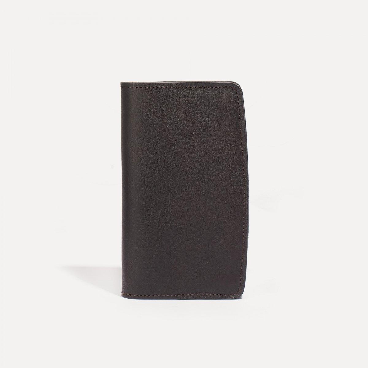 Maltese wallet - Dark Brown (image n°1)