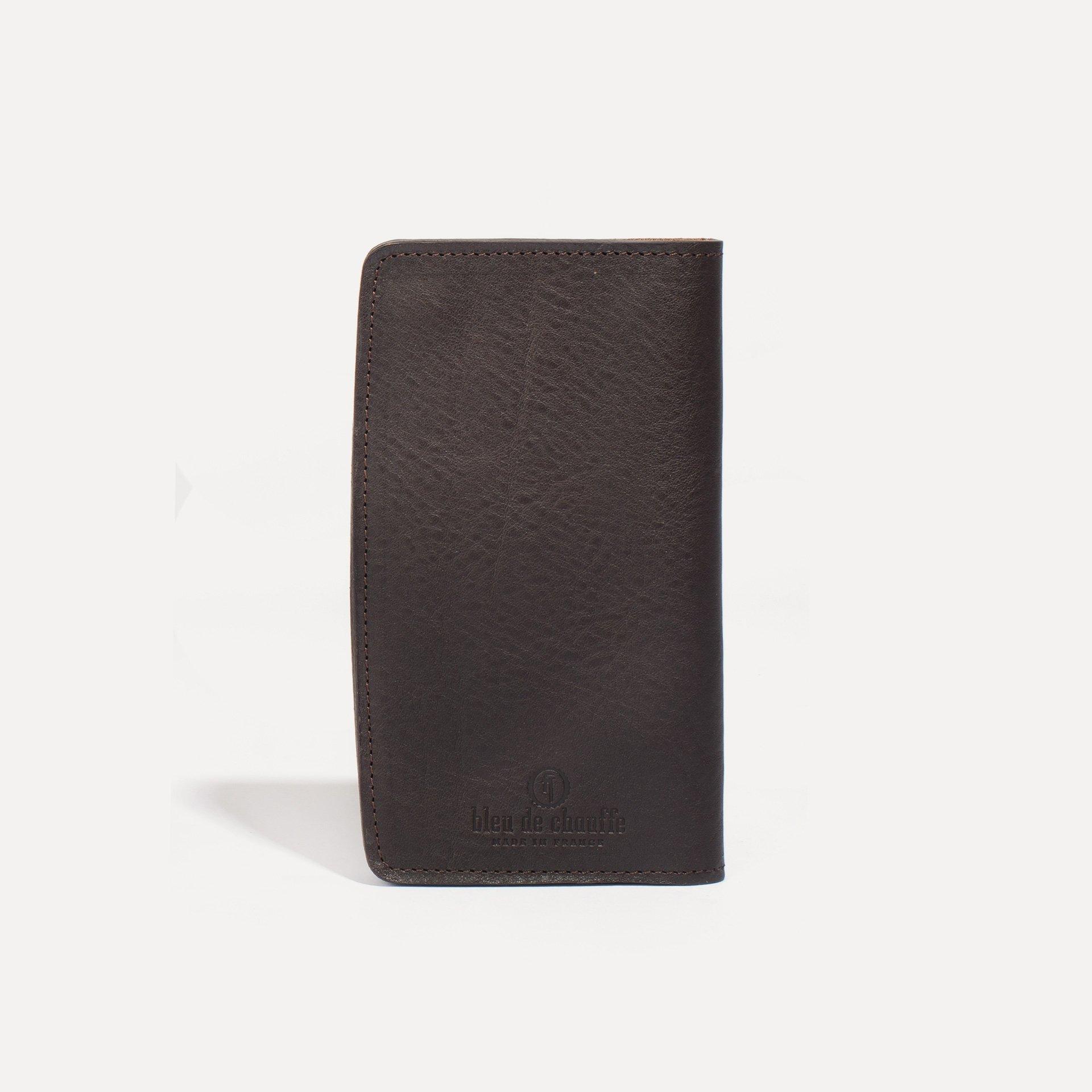 Maltese wallet - Dark Brown (image n°2)