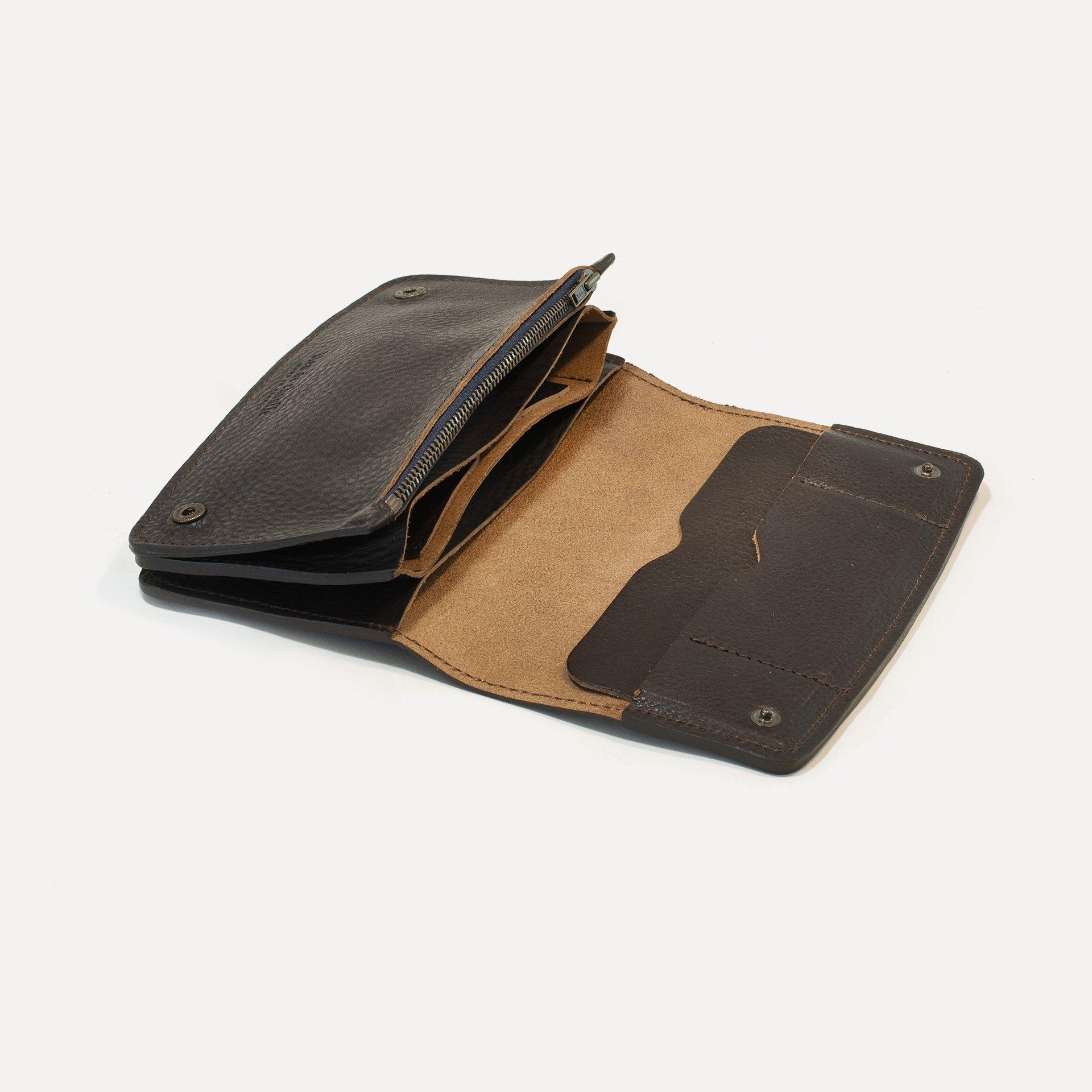 Maltese wallet - Dark Brown (image n°4)