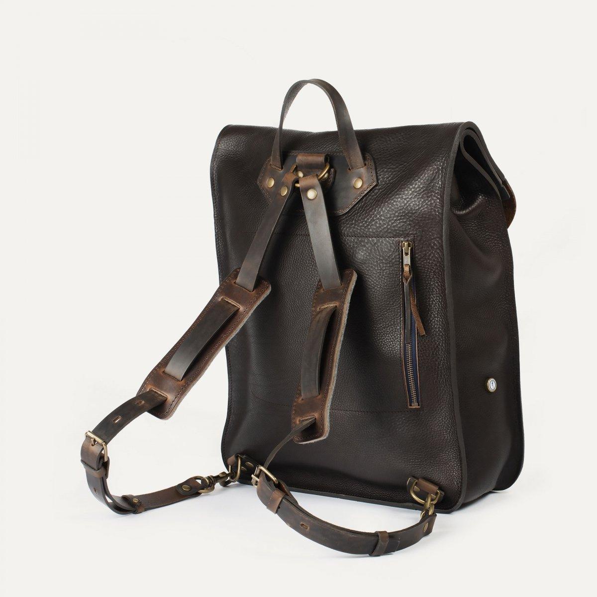 Arlo leather backpack - T Moro / E Pure (image n°3)