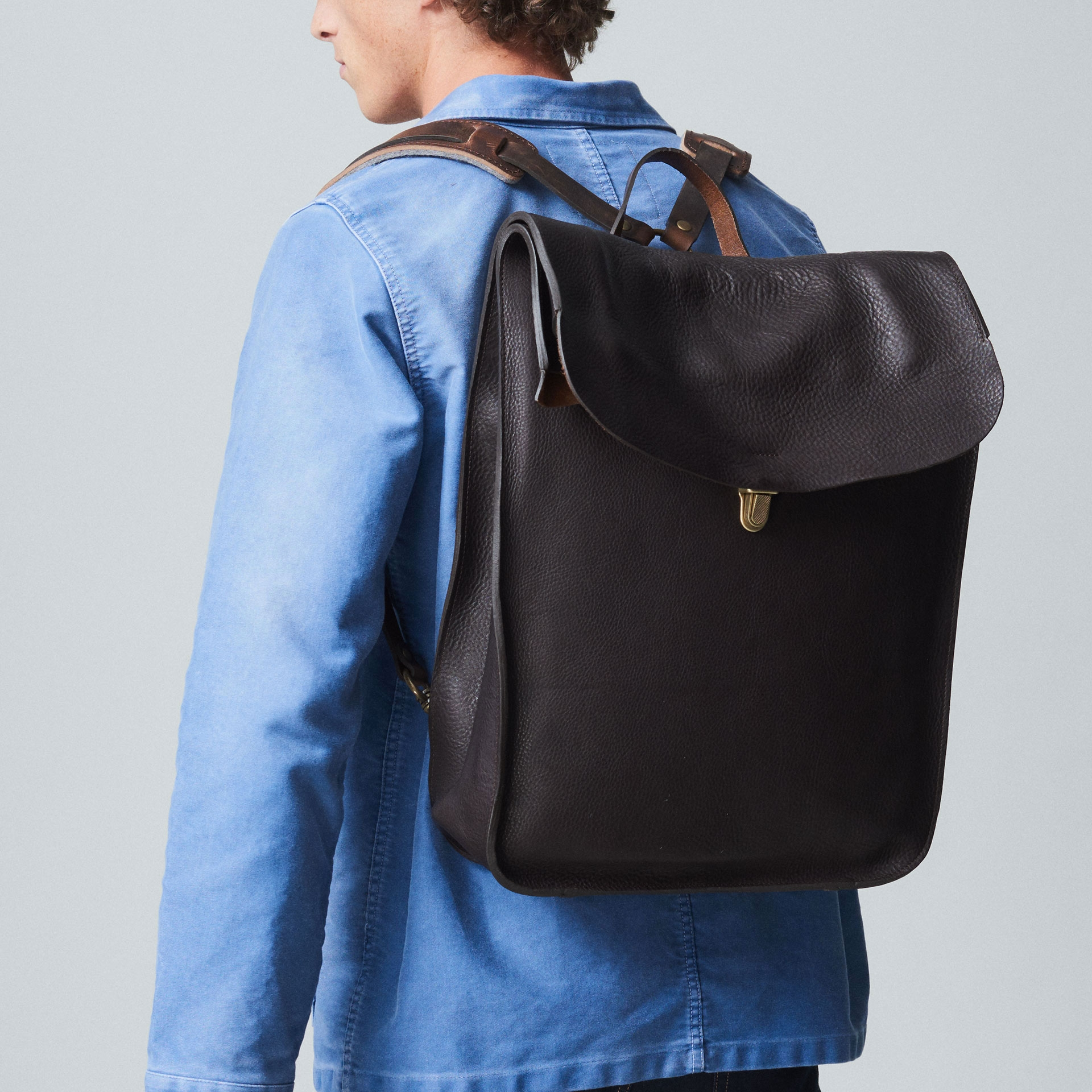 Arlo leather backpack - T Moro / E Pure (image n°6)