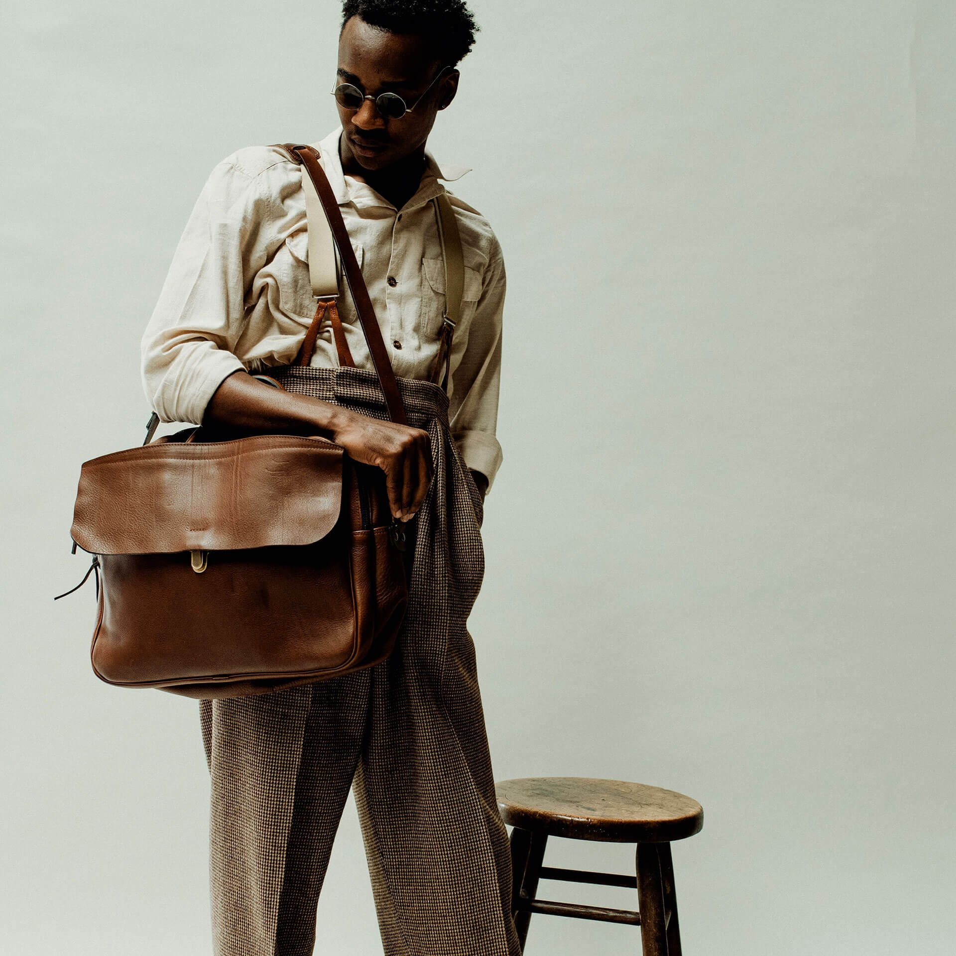 Zeppo Business bag - Cuba Libre / E Pure (image n°8)