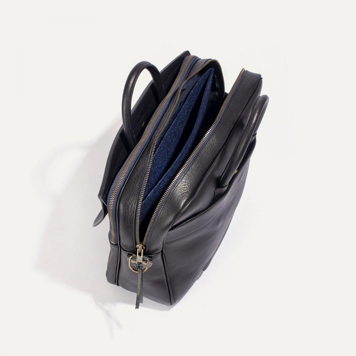 Zeppo Business bag - Black / E Pure (image n°4)