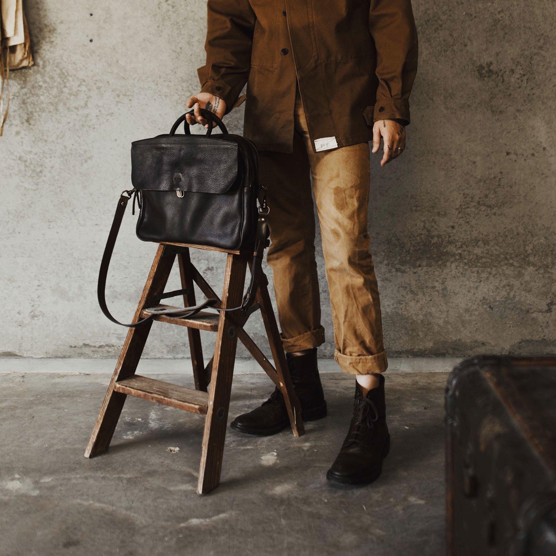 Zeppo Business bag - Black / E Pure (image n°6)