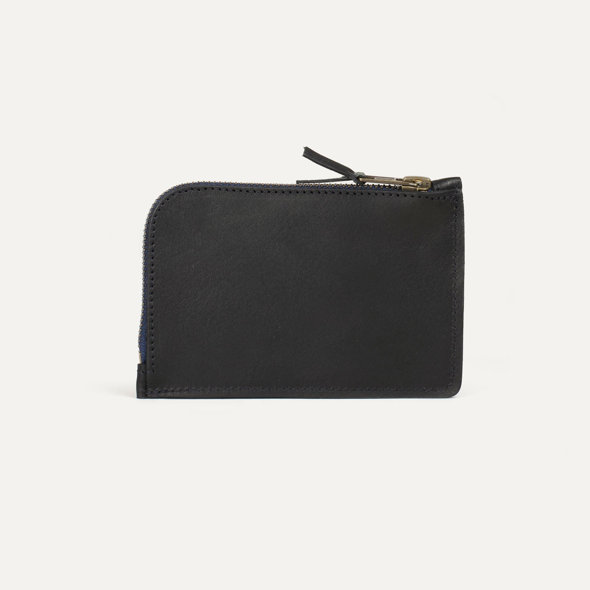 Porte monnaie zippé Pognon  / L - Noir (image n°2)