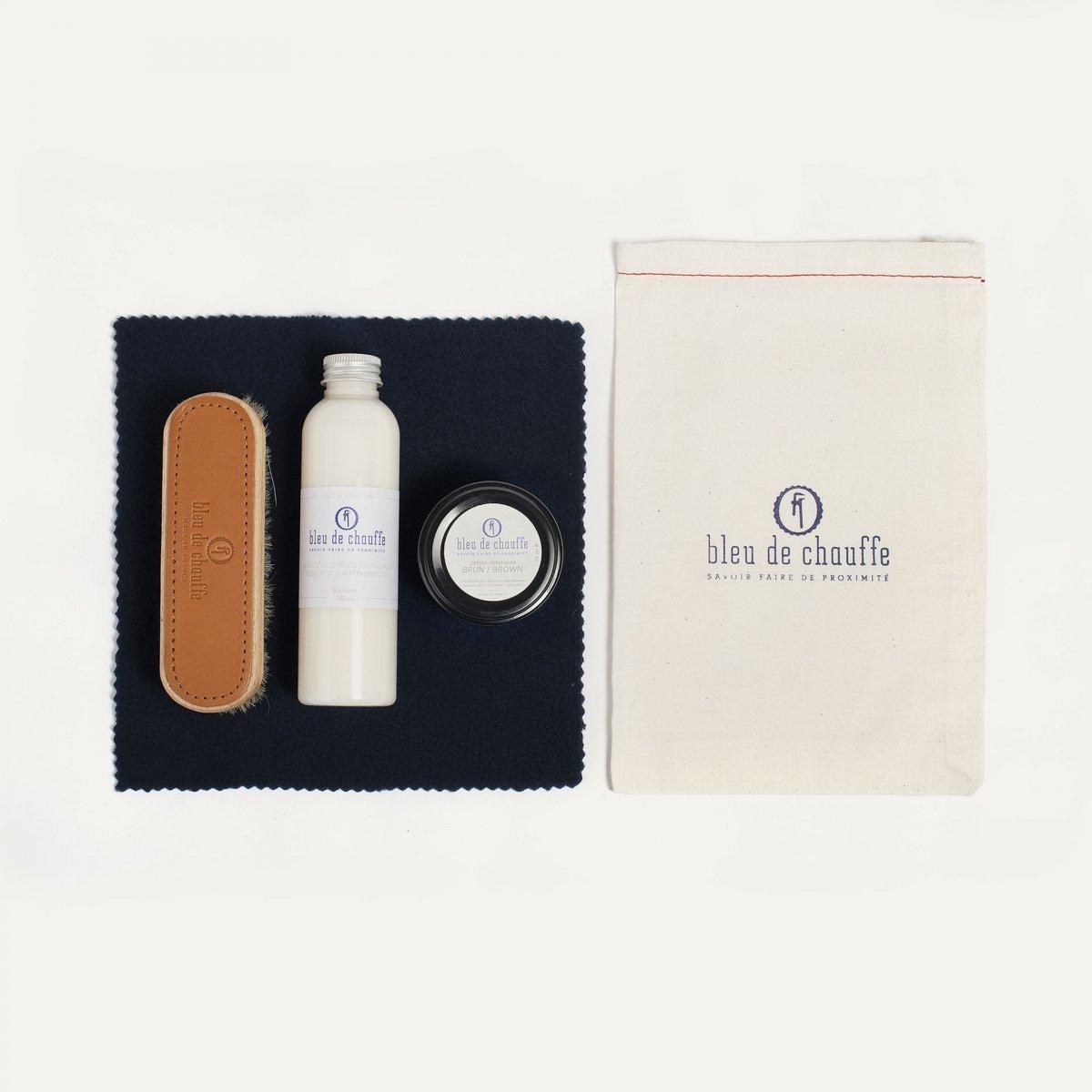Complete Bag care kit - Brown (image n°1)