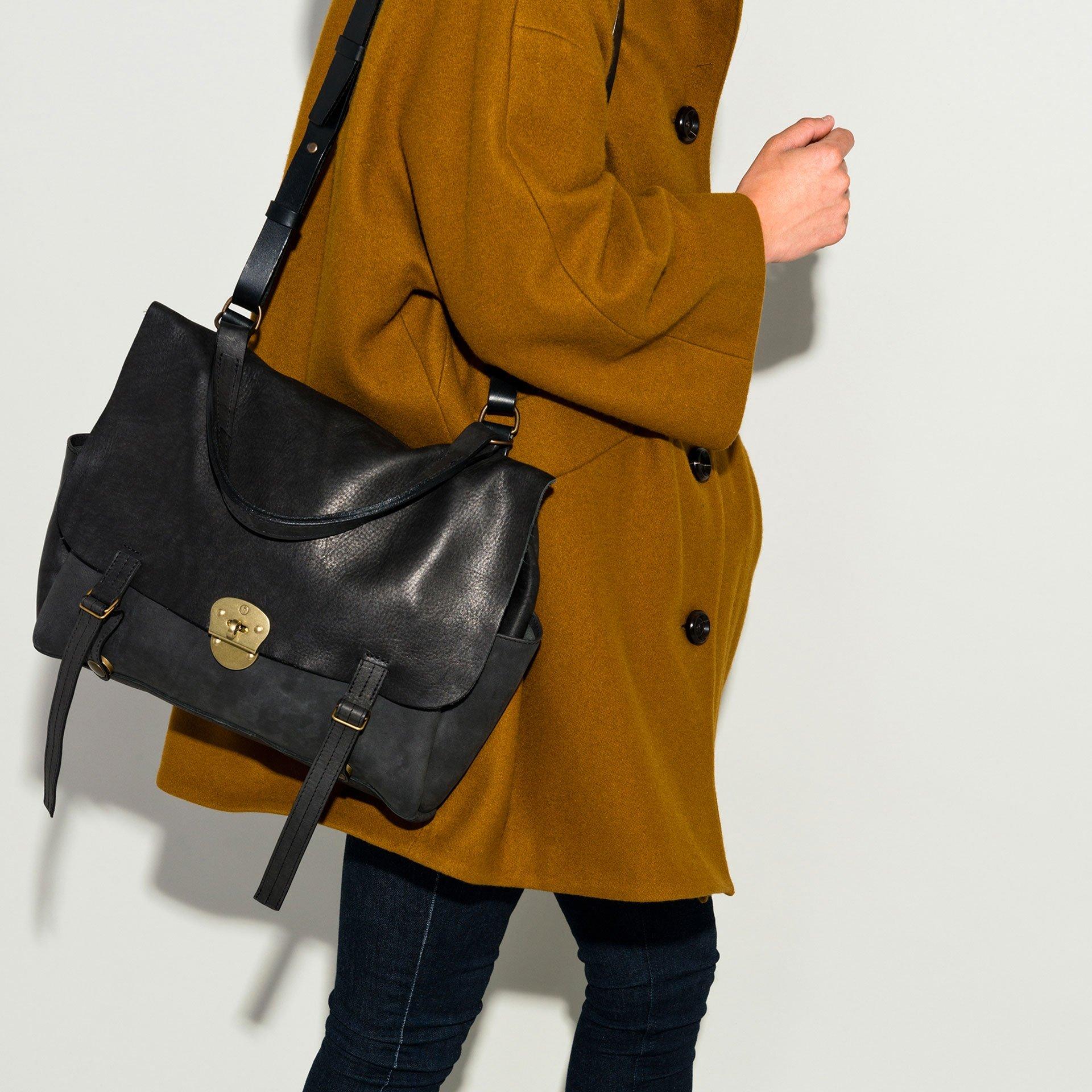 Coline bag M - Black (image n°5)
