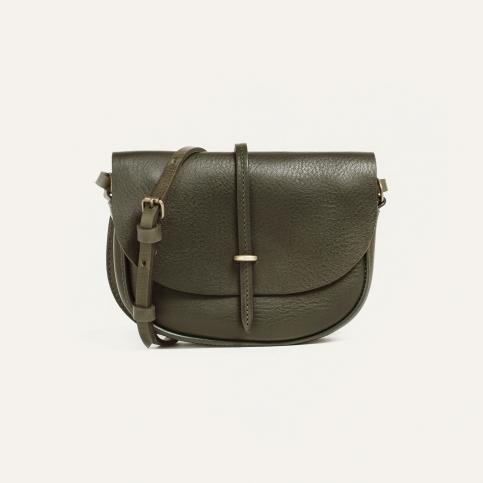 Java mini Postman bag - Khaki Leather