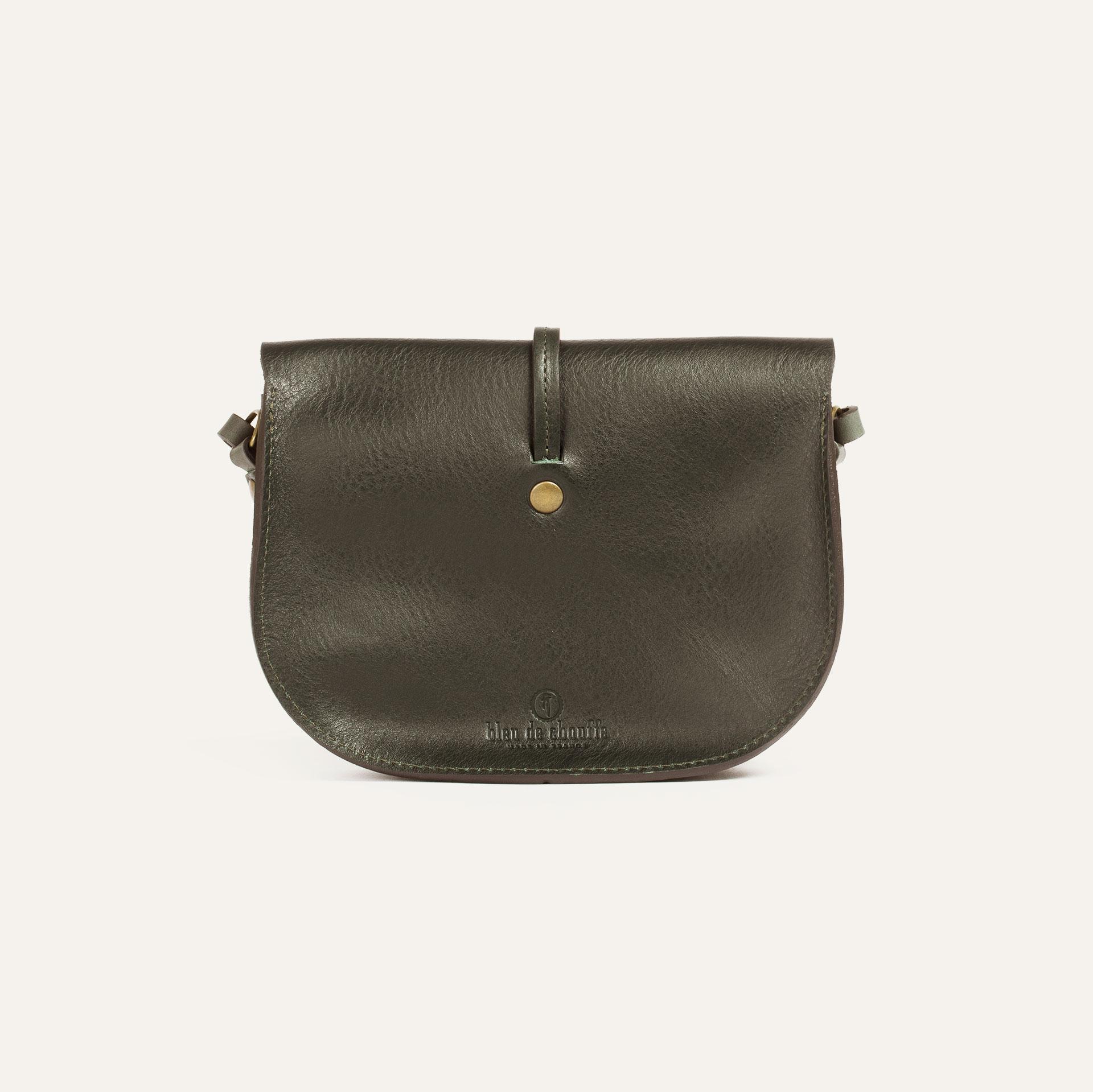 Java mini Postman bag - Khaki (image n°3)