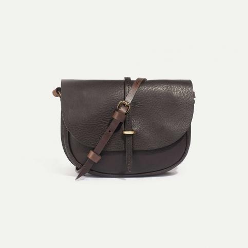 Java mini Postman bag - Coffee