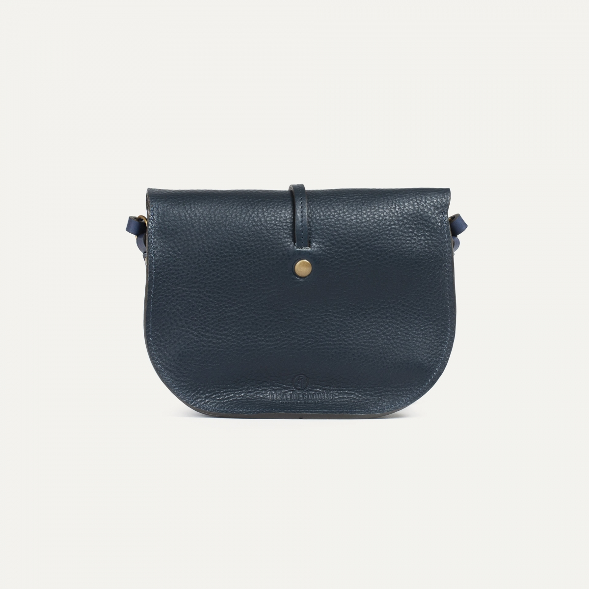 Java mini Postman bag - Navy Blue (image n°3)