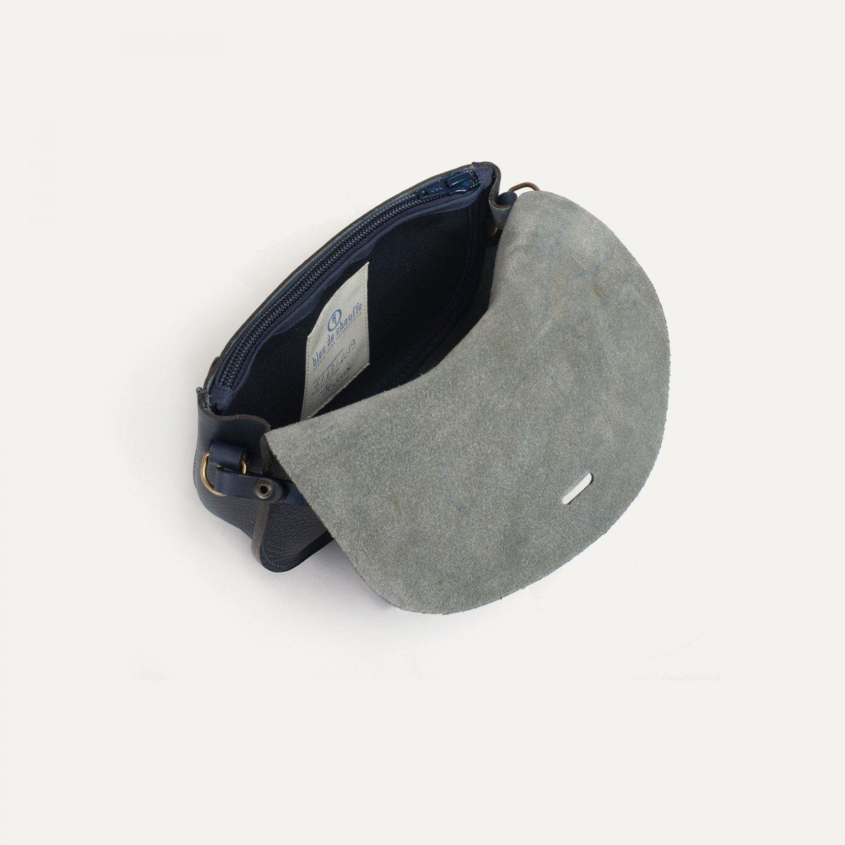 Java mini Postman bag - Navy Blue (image n°4)