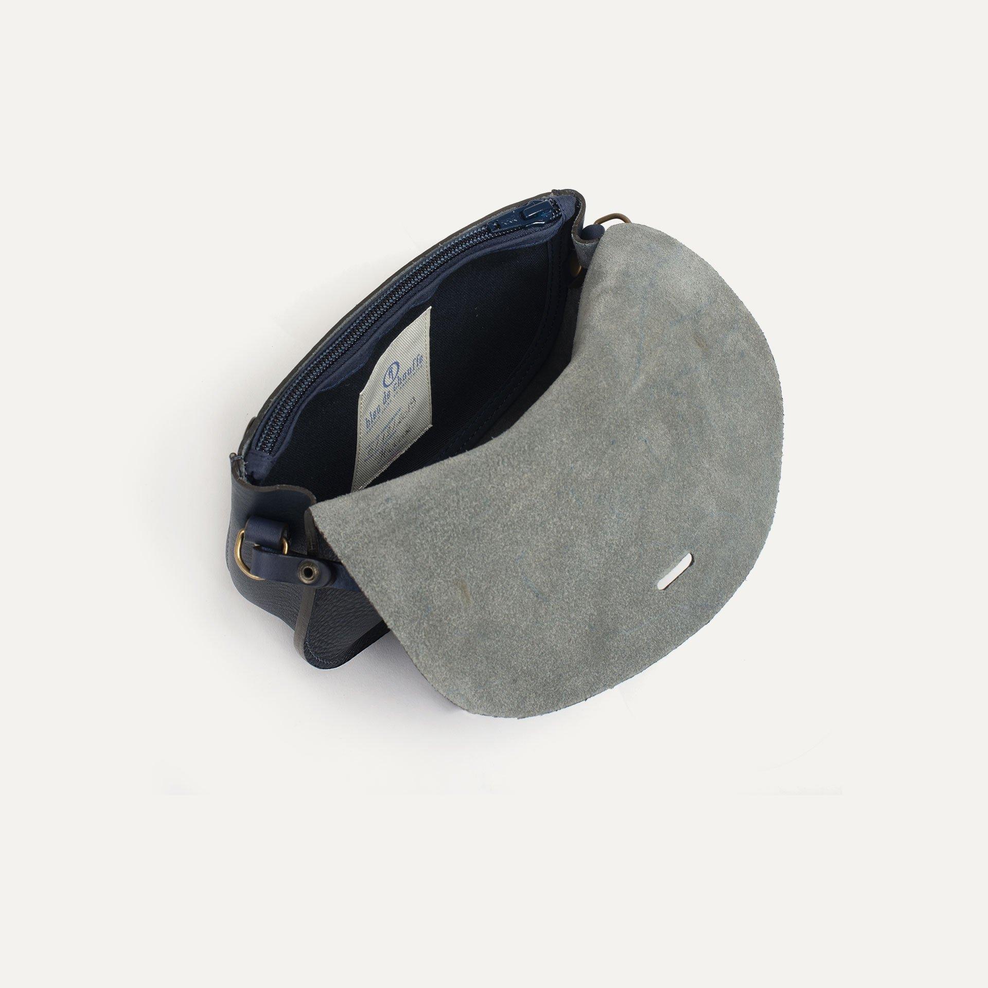 Mini sac postier Java - Marine (image n°4)