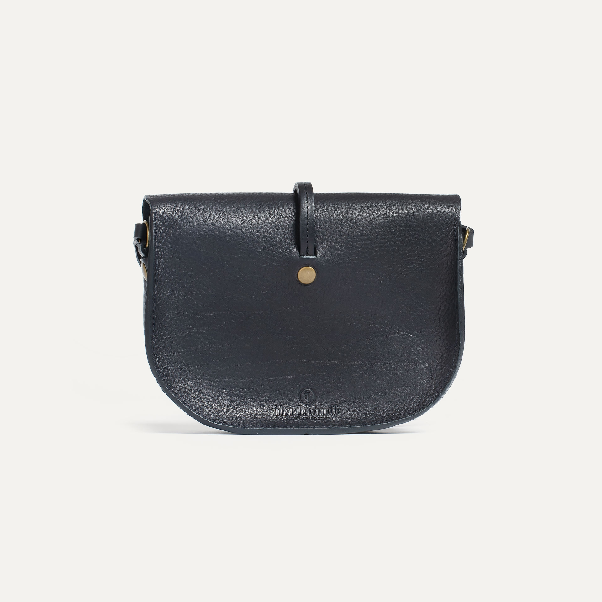 Mini sac postier Java - Noir (image n°3)