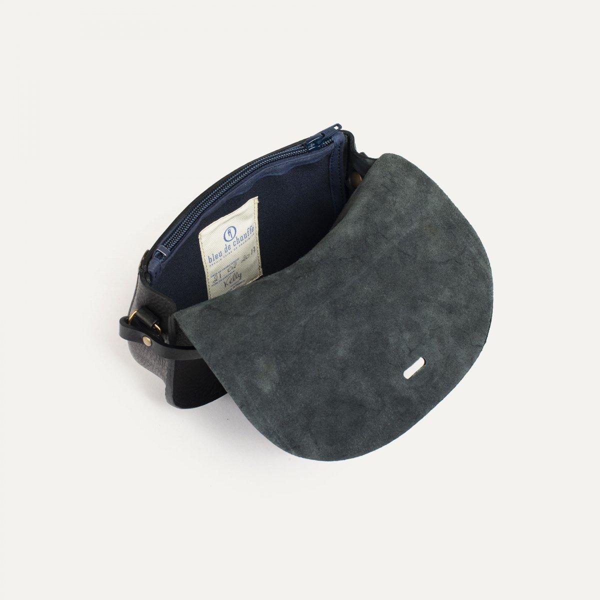 Mini sac postier Java - Noir (image n°4)