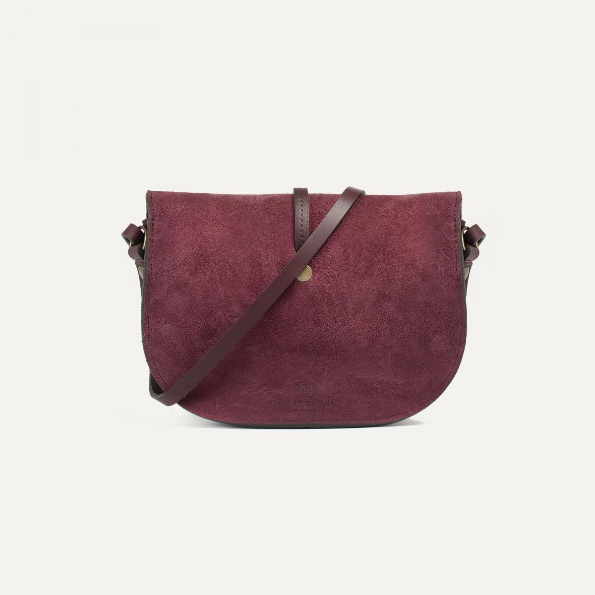 Java mini Postman bag - Burgundy / Mix (image n°3)