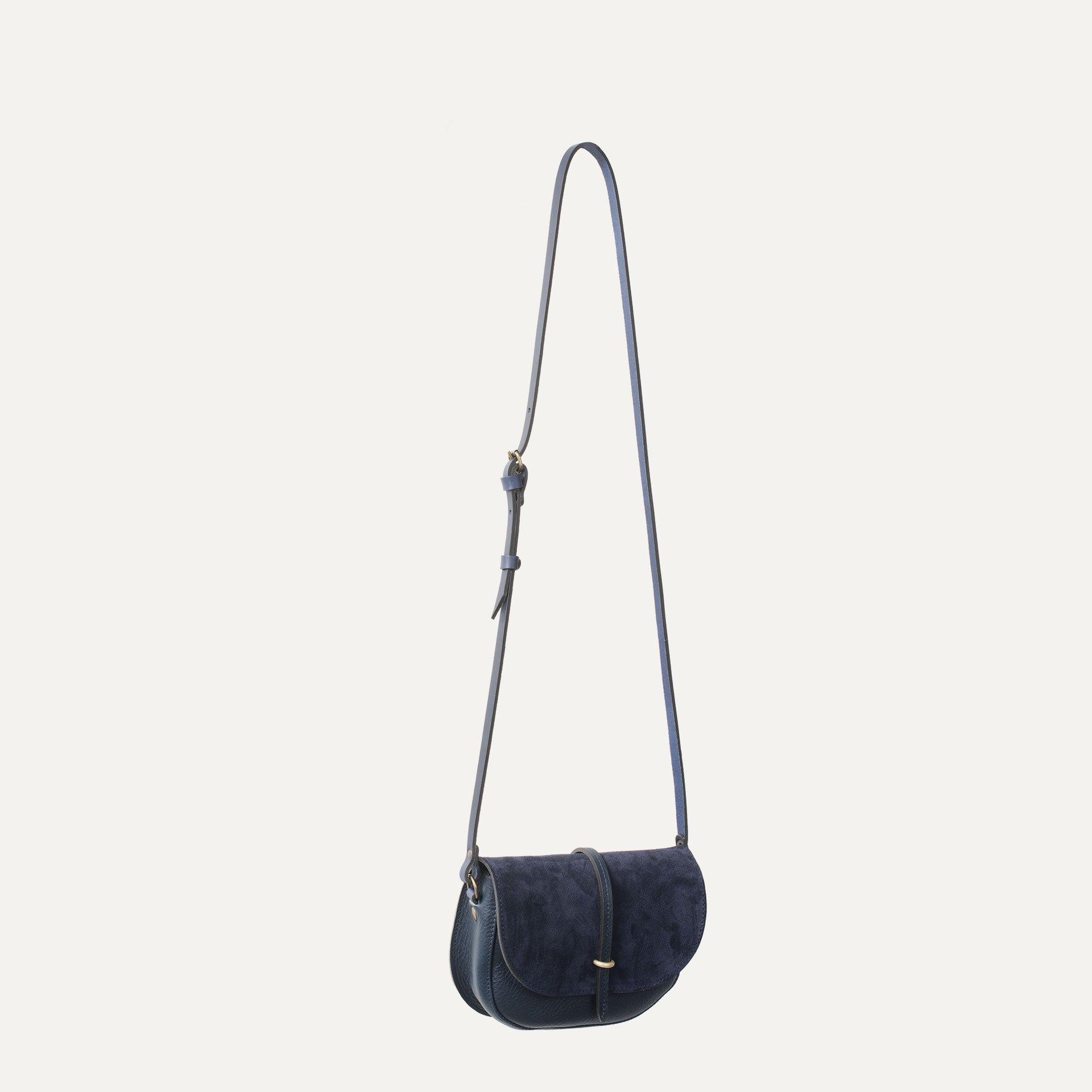 Mini sac postier Java - Marin / Mix (image n°4)