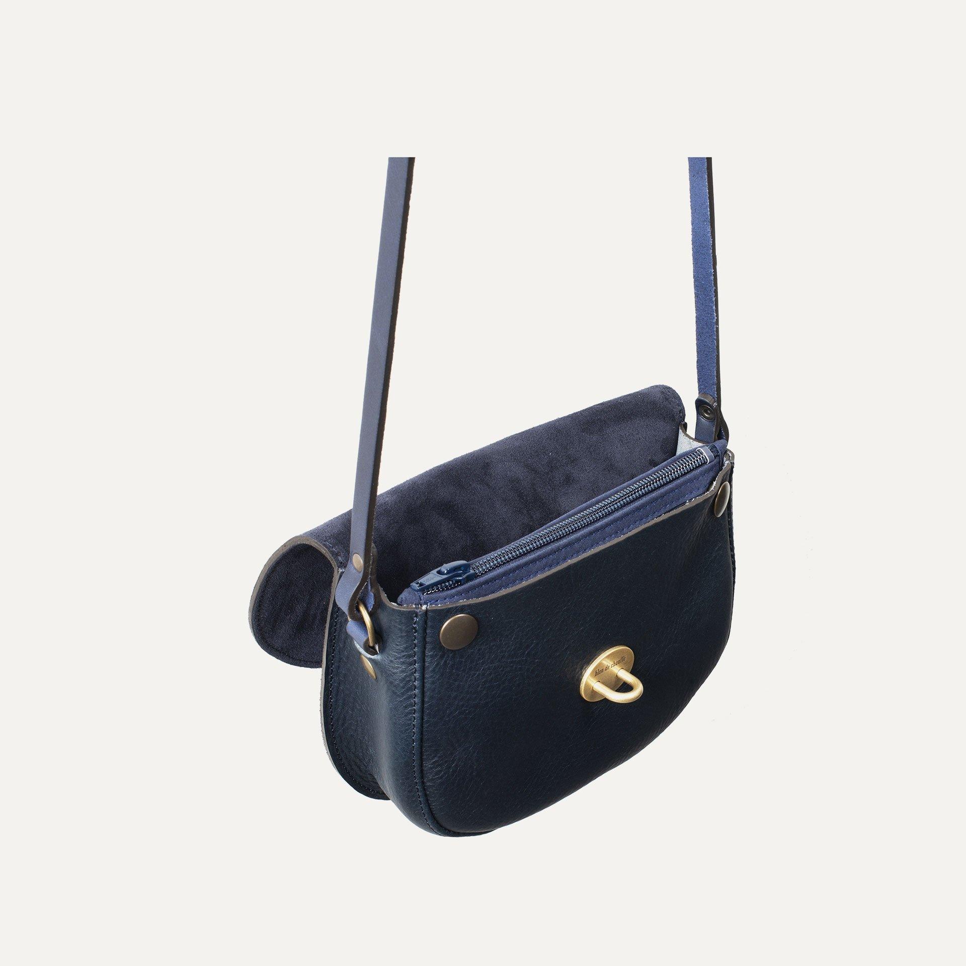 Java mini Postman bag - Marine Blue / Mix (image n°5)