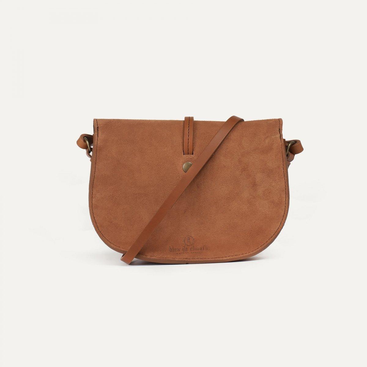 Java mini Postman bag - Havana / Mix (image n°3)