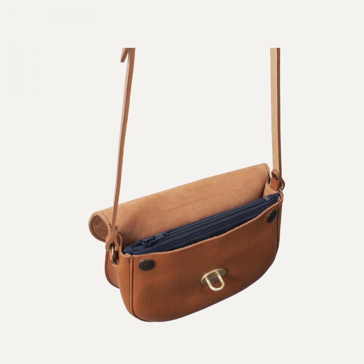 Java mini Postman bag - Havana / Mix (image n°5)