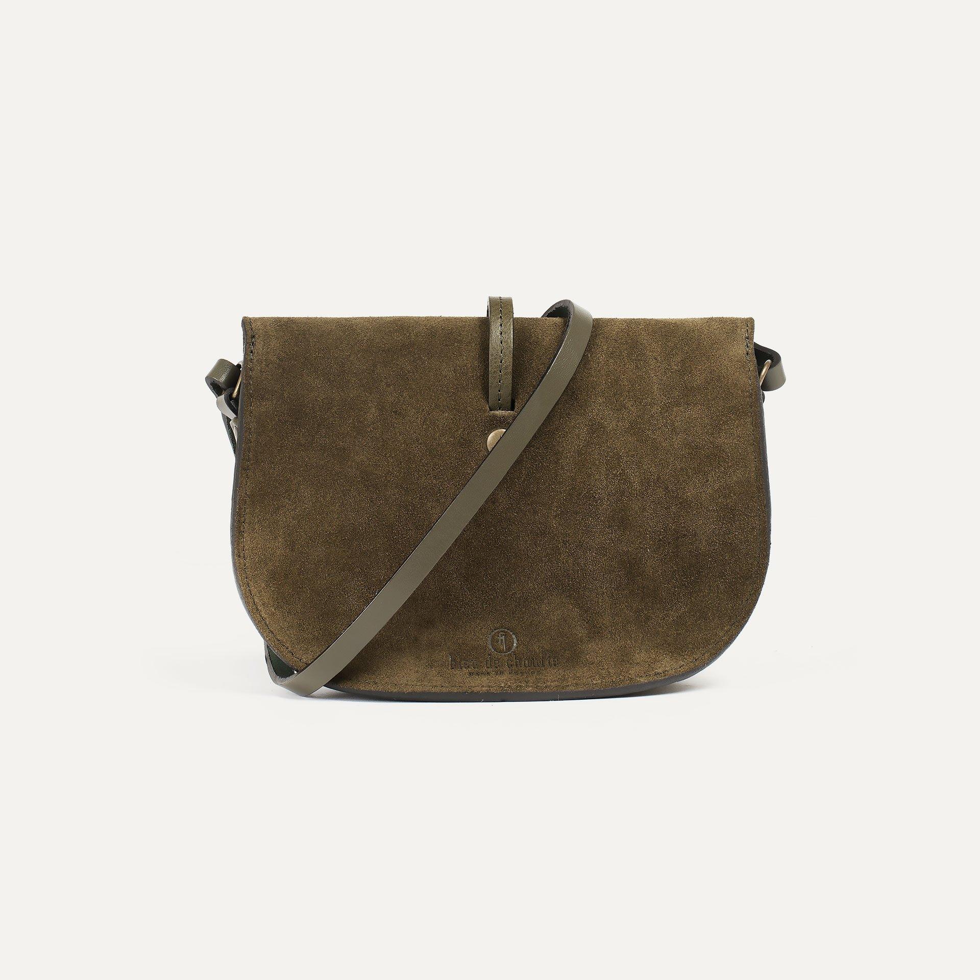 Java mini Postman bag - Khaki / Mix (image n°3)