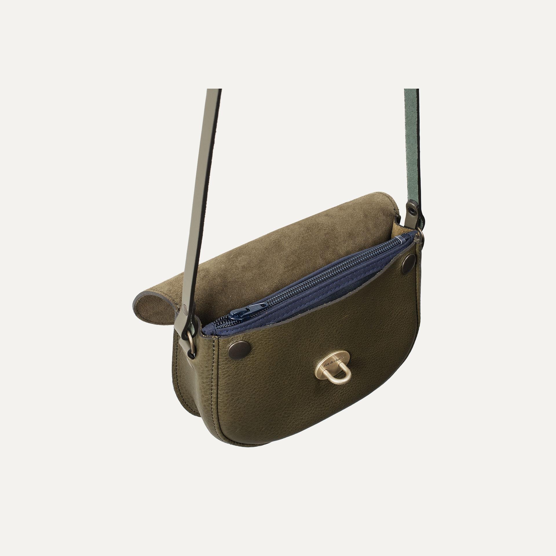 Java mini Postman bag - Khaki / Mix (image n°5)