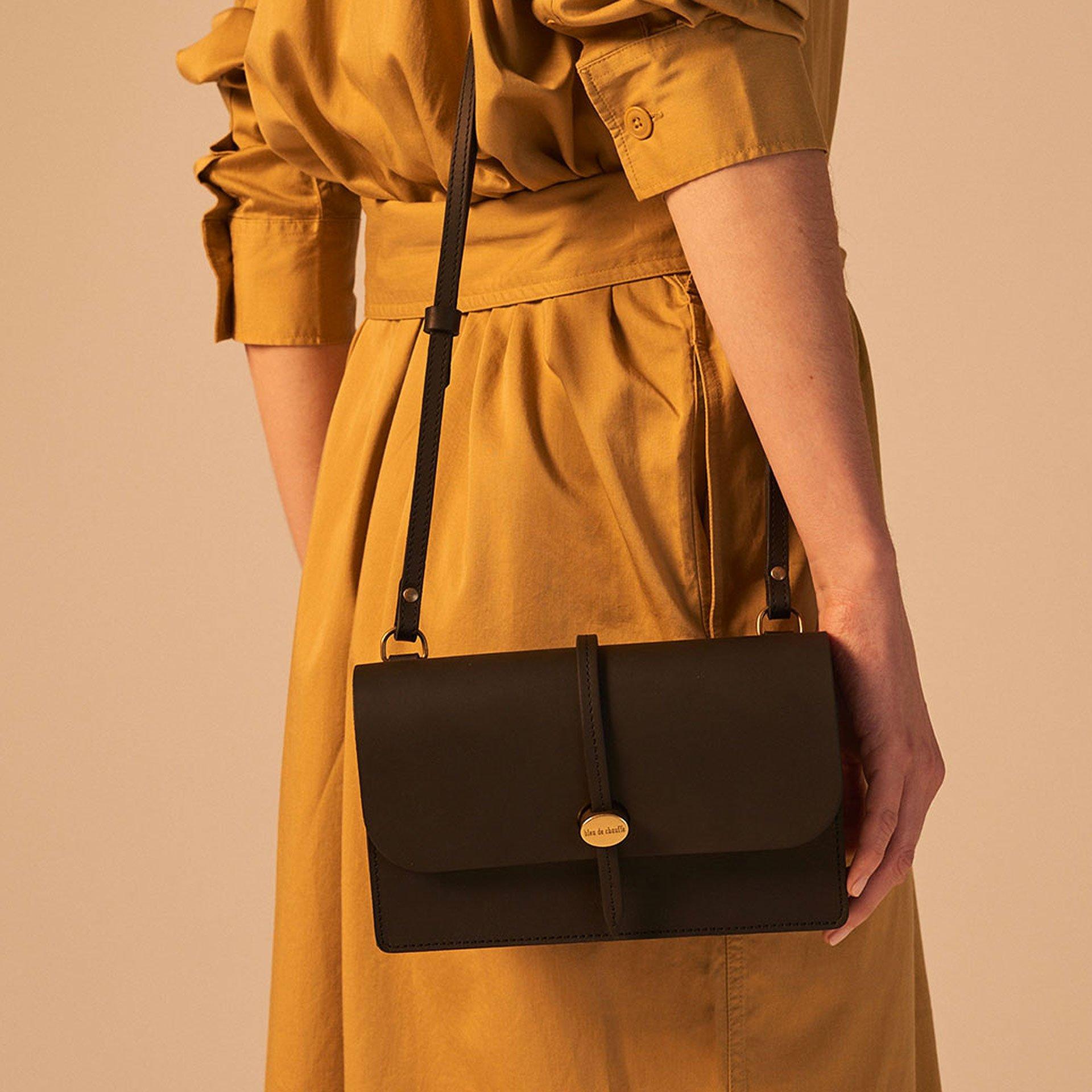 Joan Clutch bag - Black (image n°4)