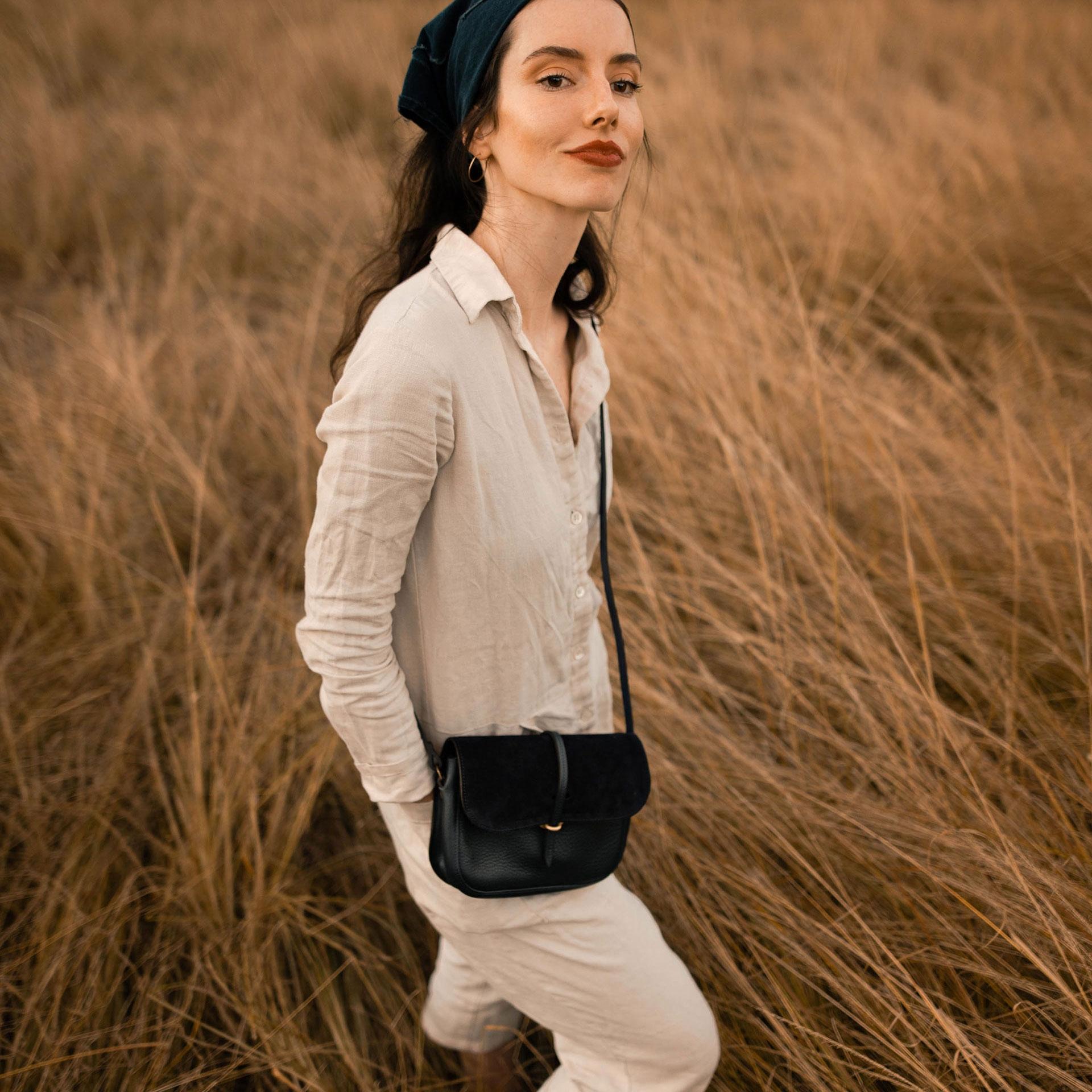 Pastis handbag - Khaki / Mix (image n°5)