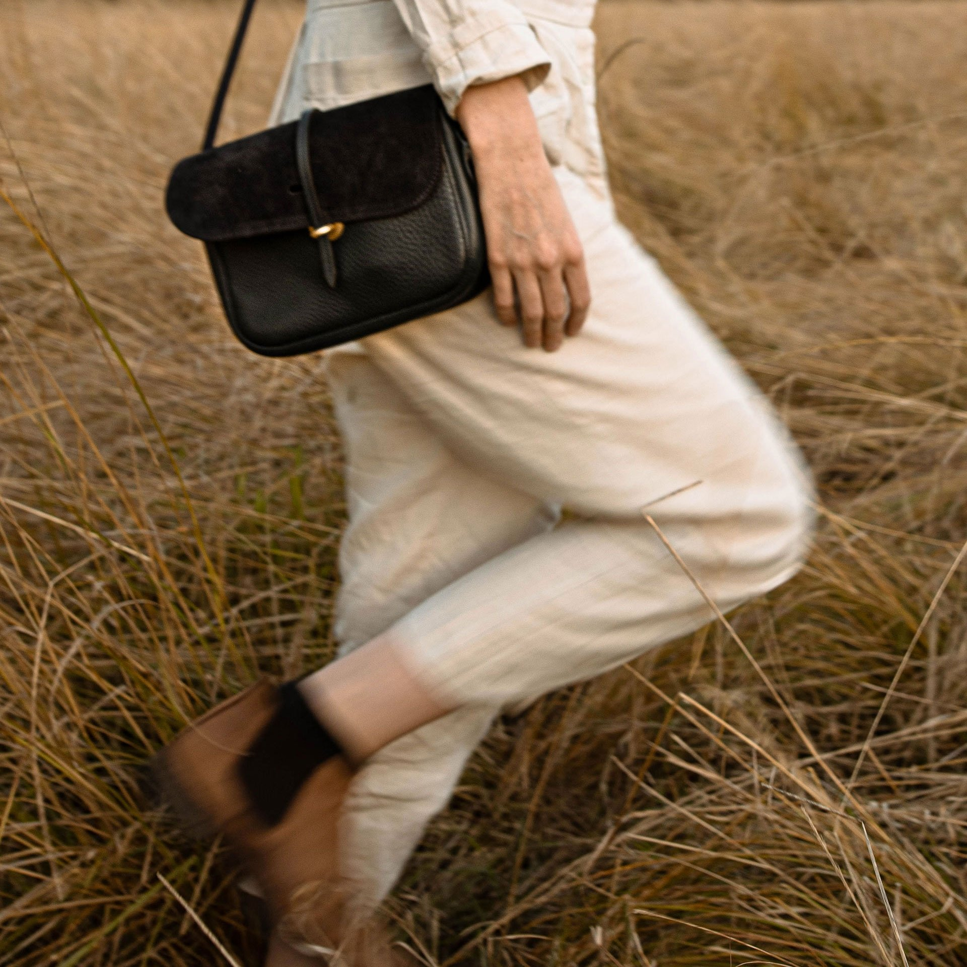 Pastis handbag - Khaki / Mix (image n°6)