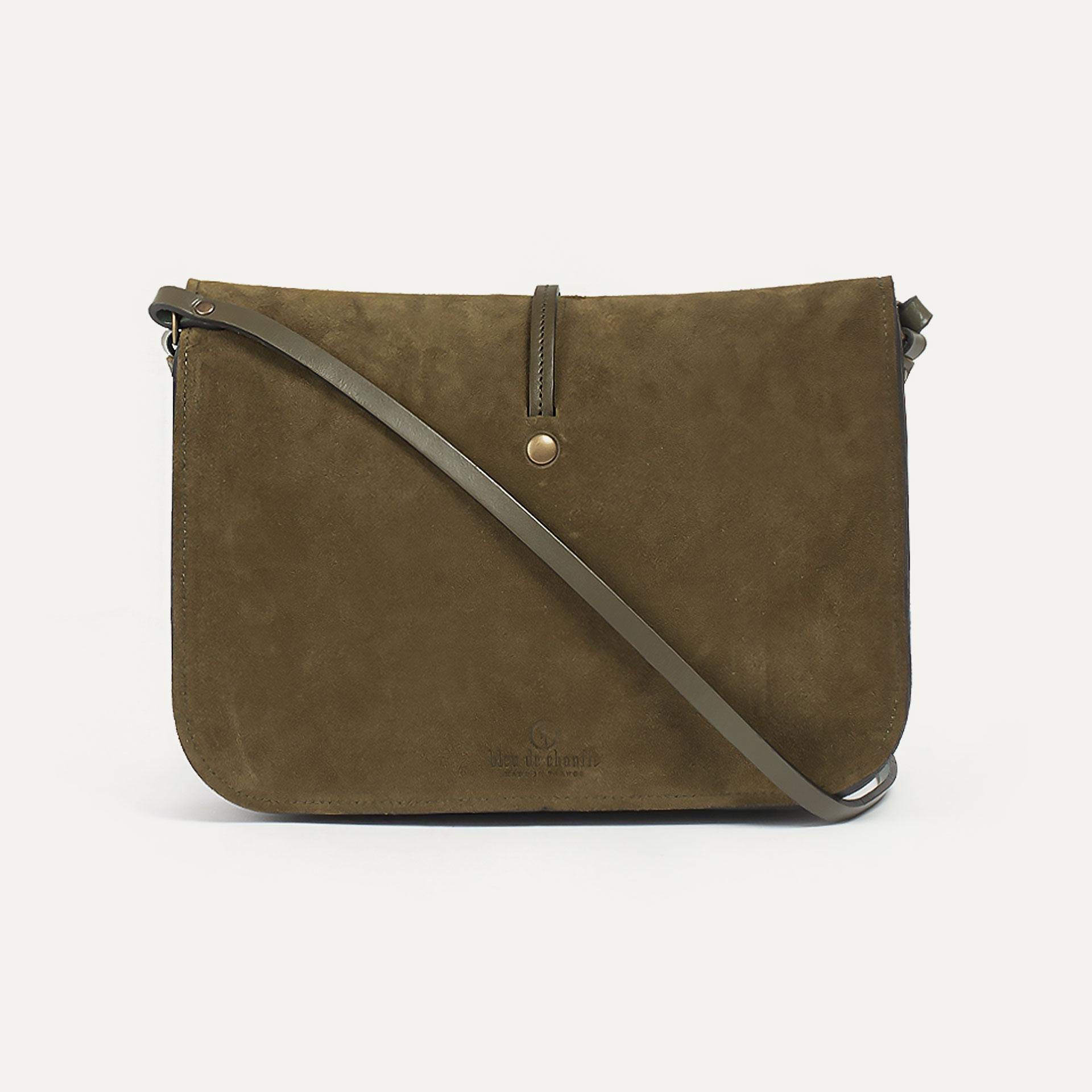 Pastel handbag - Khaki / Mix (image n°3)