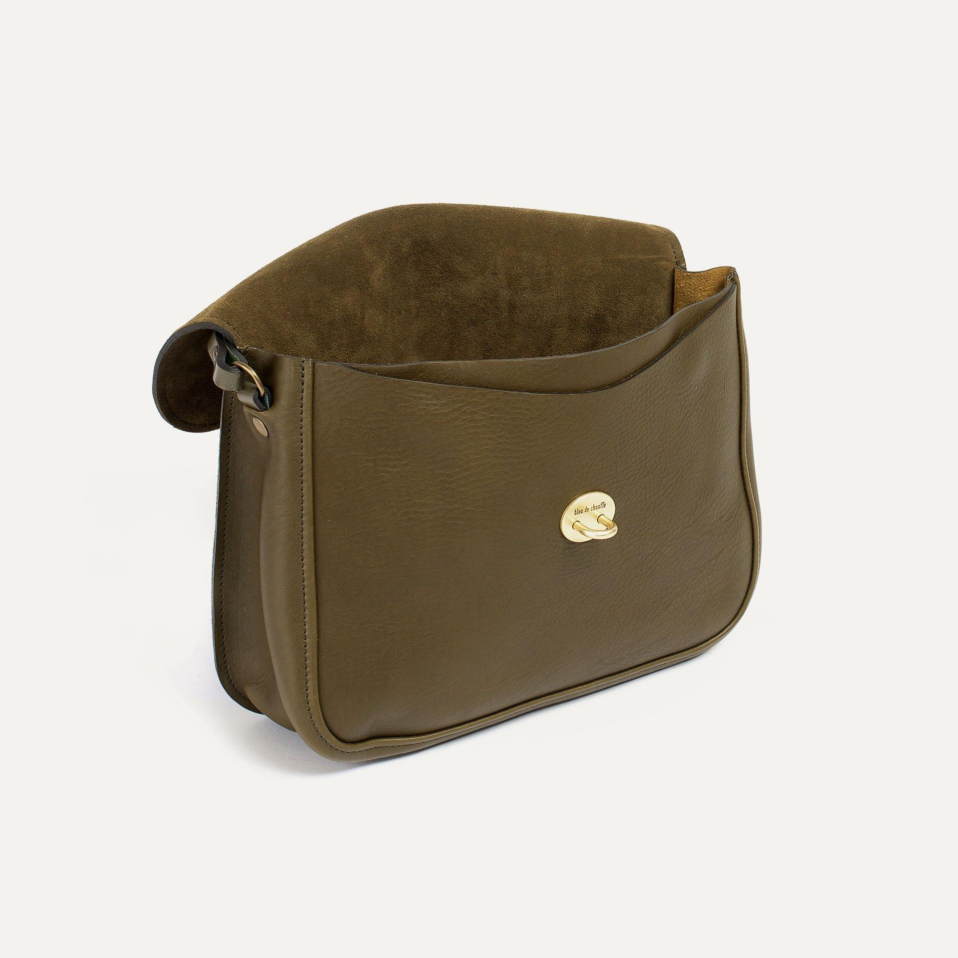Pastel handbag - Khaki / Mix (image n°4)