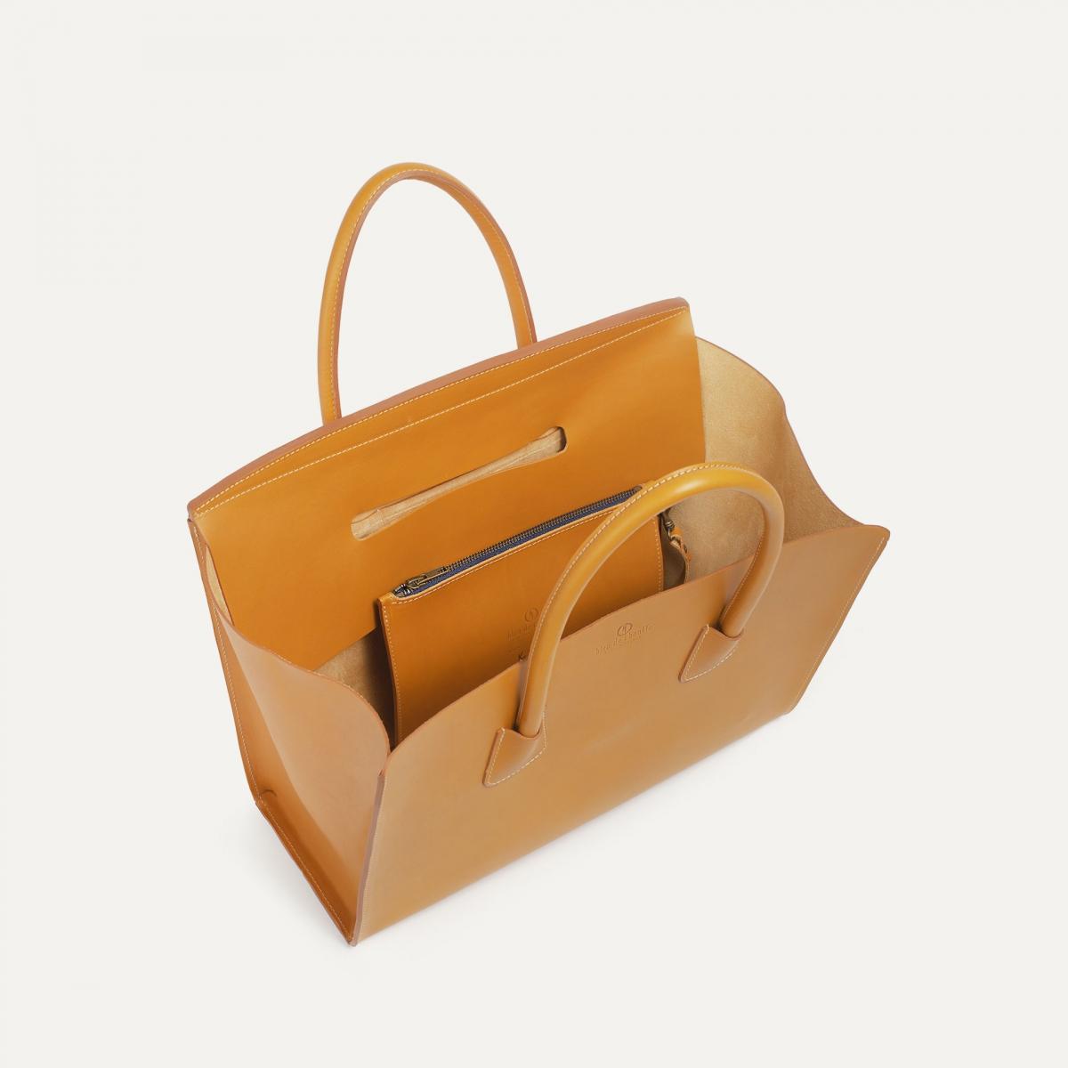 Cabas Origami L - Miel (image n°5)